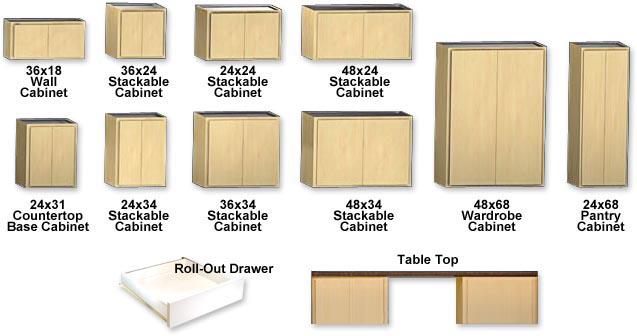 Classic series garage storage cabinets slide lok of lansing Pantry cabinet edmonton